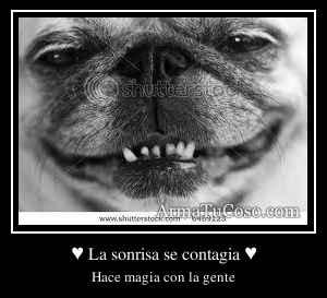 ♥ La sonrisa se contagia ♥