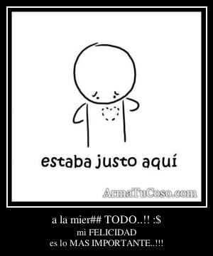 a la mier## TODO..!! :$
