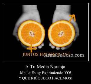A Tu Media Naranja