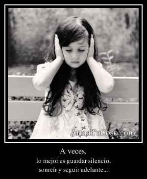 A veces,