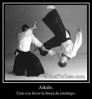 Aikido.