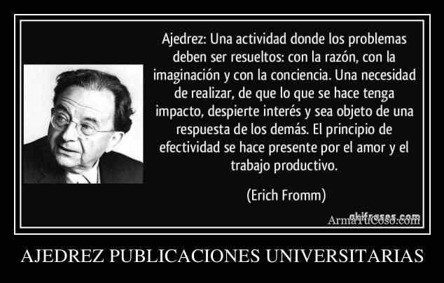 AJEDREZ PUBLICACIONES UNIVERSITARIAS