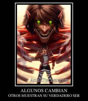 ALGUNOS CAMBIAN
