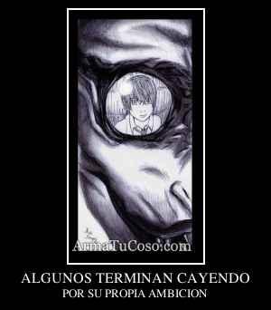 ALGUNOS TERMINAN CAYENDO