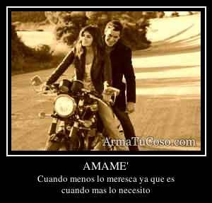 AMAME'