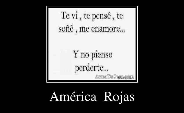 América  Rojas