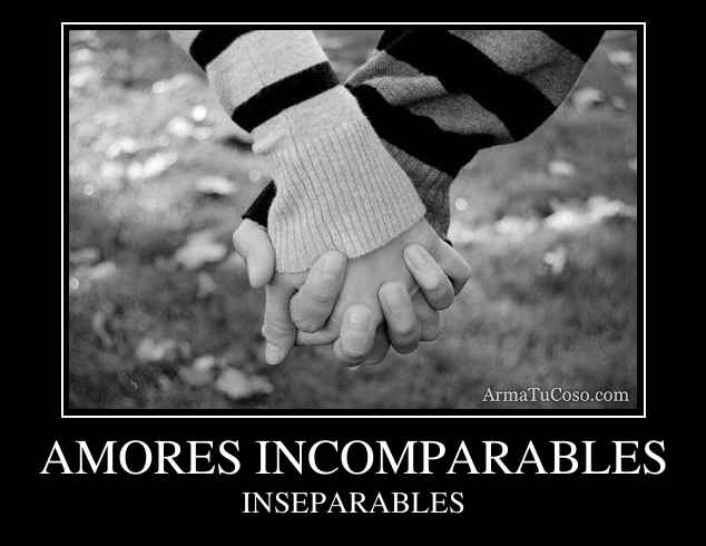 AMORES INCOMPARABLES