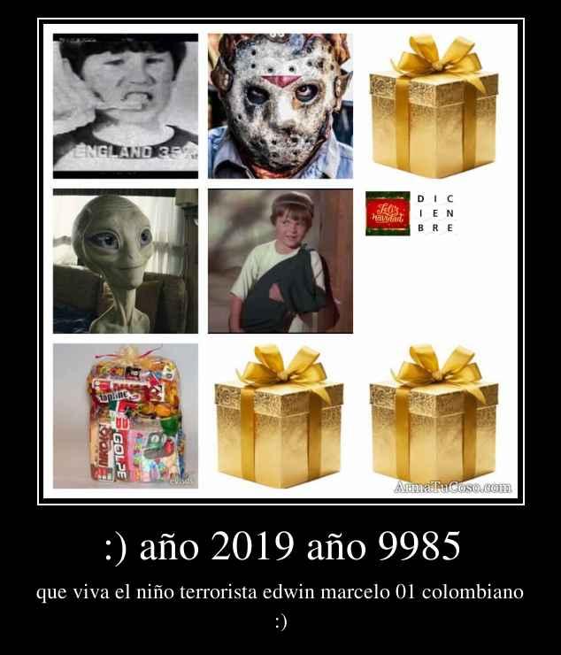 :) año 2019 año 9985