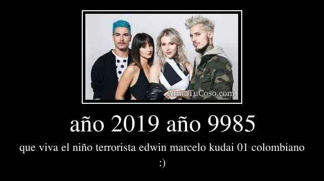 año 2019 año 9985