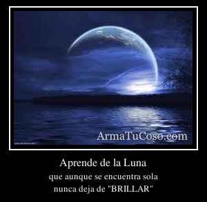 Aprende de la Luna