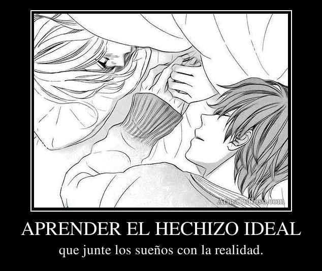 APRENDER EL HECHIZO IDEAL