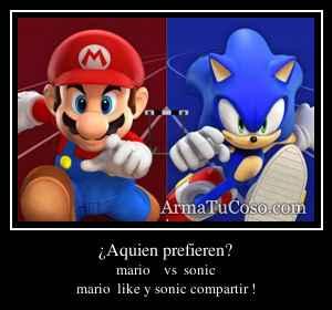 ¿Aquien prefieren?