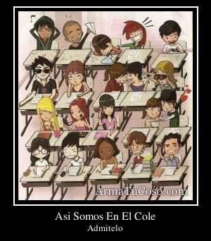 Asi Somos En El Cole