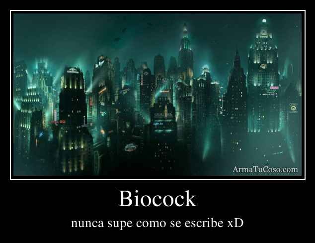 Biocock
