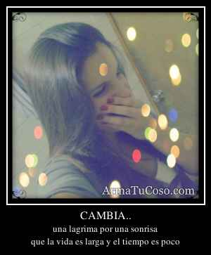 CAMBIA..