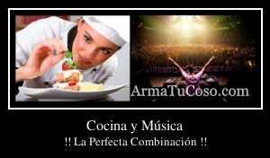 Cocina y Música