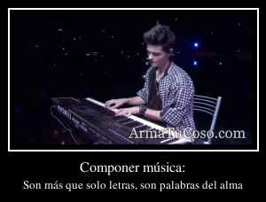 Componer música: