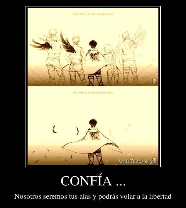 CONFÍA ...