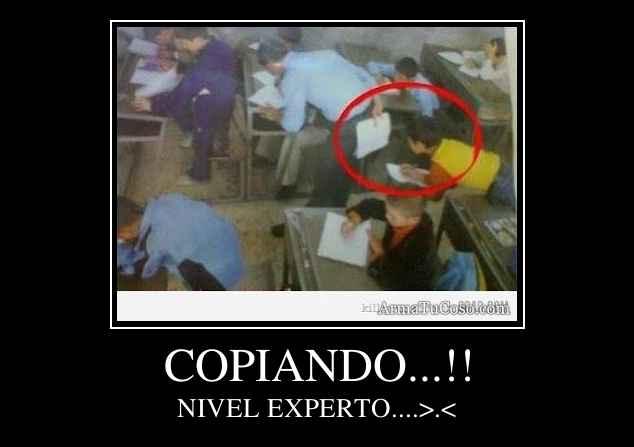 COPIANDO...!!