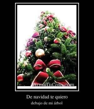 De navidad te quiero