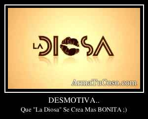 DESMOTIVA..