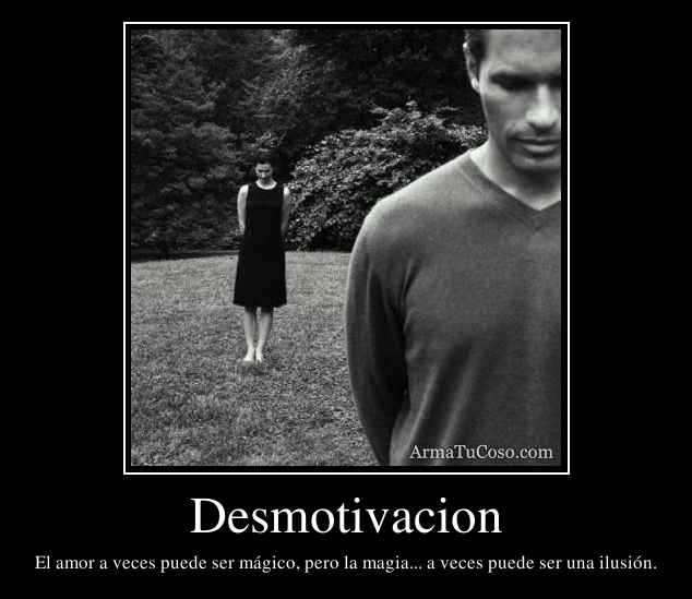 Desmotivacion