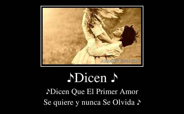 ♪Dicen ♪