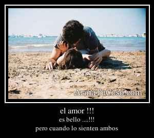 el amor !!!