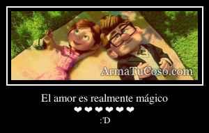 El amor es realmente mágico