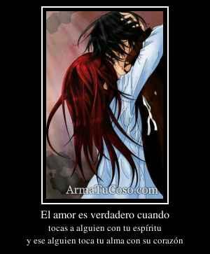 El amor es verdadero cuando