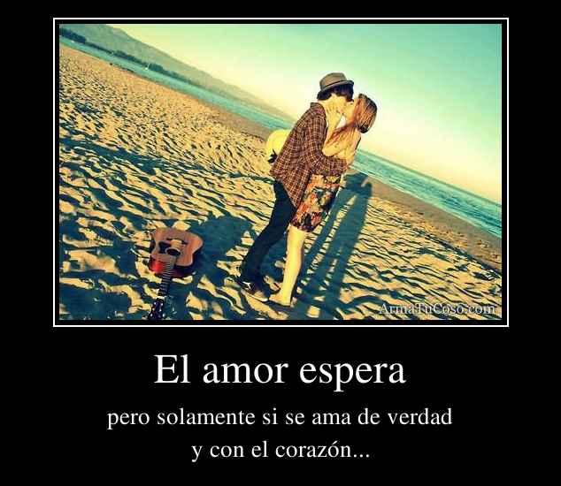 El amor espera