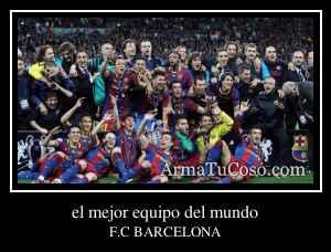 el mejor equipo del mundo