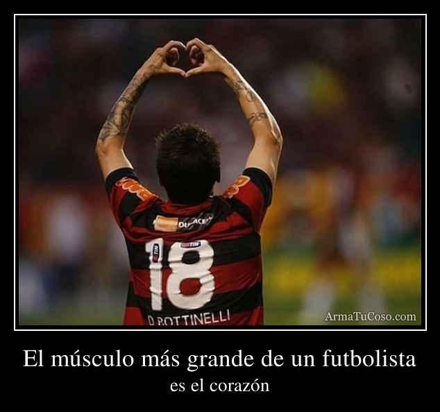 El músculo más grande de un futbolista