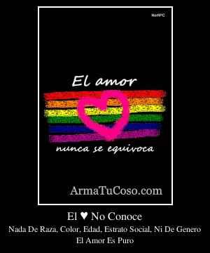 El ♥ No Conoce