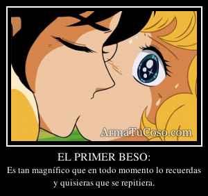 EL PRIMER BESO:
