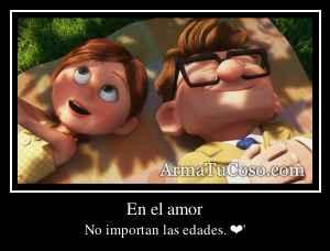 En el amor