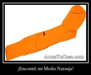 ¡Encontré mi Media Naranja!