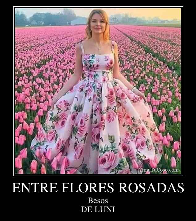 ENTRE FLORES ROSADAS