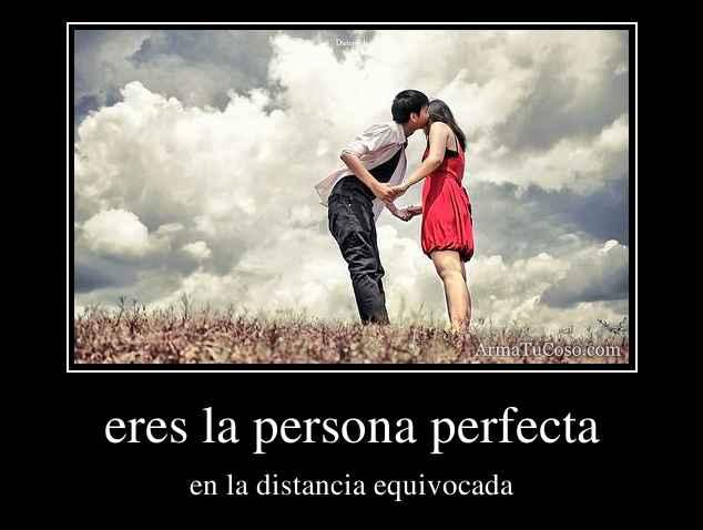 eres la persona perfecta