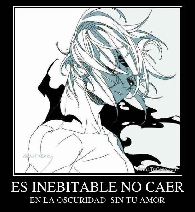 ES INEBITABLE NO CAER