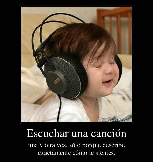 Escuchar una canción