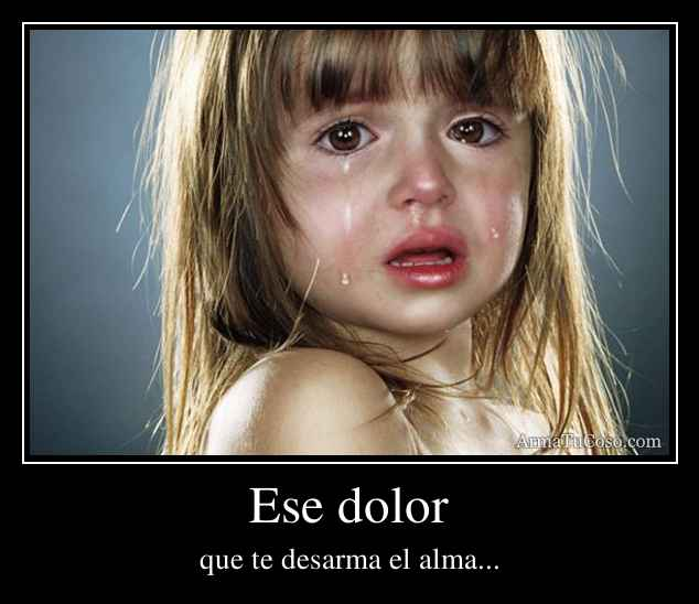 Ese dolor