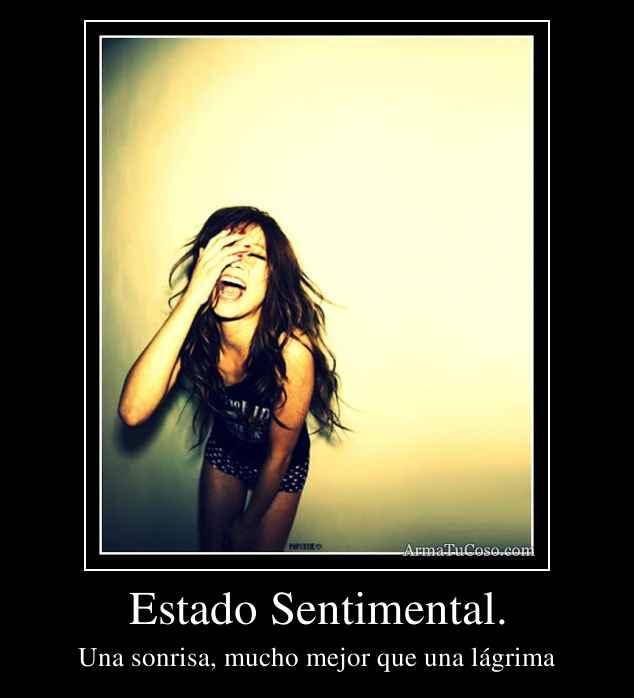 Estado Sentimental.