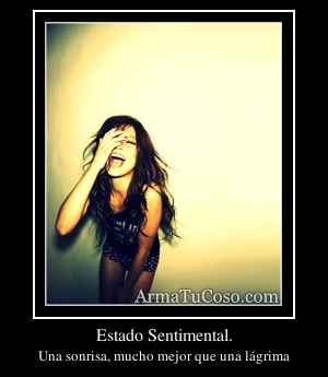Estado Sentimental.