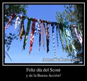 Feliz día del Scout