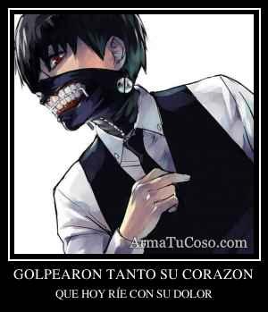 GOLPEARON TANTO SU CORAZON