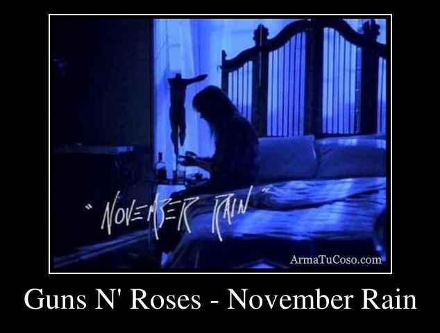 guns n roses november rain