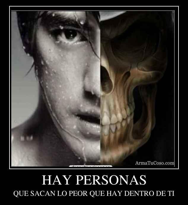 HAY PERSONAS
