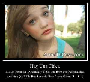 Hay Una Chica