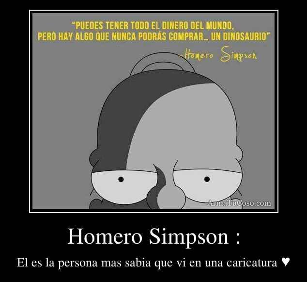 Homero Simpson :